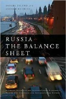 The Russia Balance Sheet - Peterson Institute for Internal Economics