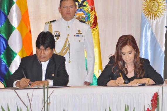 Argentina strengthens trade with Bolivia