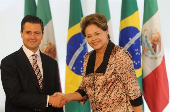 Peña Nieto seeks cooperation with Brazil